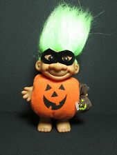 "HALLOWEEN PUMPKIN TRICK OR TREATER w/GOODY BAG - 5"" Russ Doll Troll - NEW IN BAG"