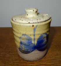 Studio pottery Papillon Design Jar