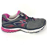 BROOKS RAVENNA 5 Womens Gray Black Pink Running Athletic Shoes US Size 10
