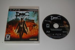 Sony Playstation 3 PS3 DmC: Devil May Cry - Game Discs & Case