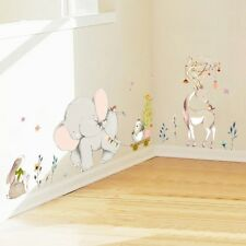 Large Elephant Removable Wall Stickers Nursery Bedroom Home Kids HQYL OqRnV