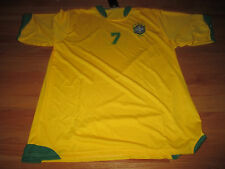SPORTS 2006 World Cup ADRIANO LEITE RIBEIRO No. 7  BRAZIL (XL) Jersey w/ Tags