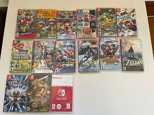 Nintendo Switch Games Bundle Lot