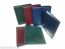 More details for empty classic  banknote binder, choice of colour, blue, burgundy, or green