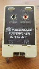 X-10 Powerhouse Powerflash Interface Pf284-Flashes House Lights if Alarm Sounds