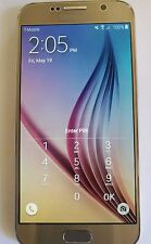 Samsung Galaxy S6 32 GB Gold Platinum SM-G920A - Factory Unlocked Clean ESN