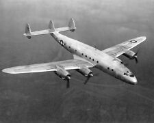 WWII LOCKHEED C-69 CONSTELLATION AIRCRAFT 11x14 SILVER HALIDE PHOTO PRINT