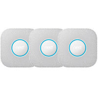 Google Nest Protect Smoke and CO Alarm Battery - White - (3-Pack) S3006WBUS