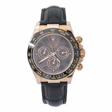 Rolex Daytona 116515LN Ceramic 18K Rose Chocolate W/Papers Automatic Watch 40mm