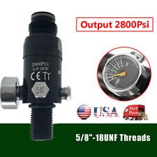Hpa 5/8-18Unf Thread High Pressure Valve Regulator Air Tank Output 2800psi Us