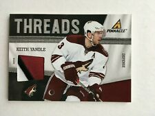 Keith Yandle 2011-12 Pinnacle Threads Patches #44 Phoenix Coyotes Panthers /25