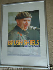 BRUSH SHIELS & HIS BAND GIG POSTER 1997UNRELEASED CONCERT POSTER 19YRS LOVELYGEM