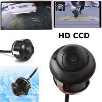 360° HD CCD Car Rear View Reverse Backup Parking Camera Waterproof Lens