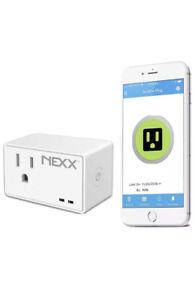 Nexx WiFi Smart Plug NXPG-100W - Control, Schedule and Monitor, No Hub Required