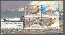 Australian Antarctic Territory-WWF Min sheet-cto-f.used-2010