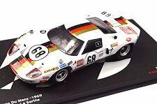FORD GT40 LE MANS 24 HOUR 1969 KELLENERS JOEST 1:43 ALTAYA LM23
