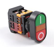 Tasterkombination Motorschalter Maschinenschalter 230V mit Leuchtmelder [#1242]