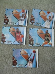 Lot of 5 2004-05 Topps Tier Reserved Cards /300 Wallace Mercer More