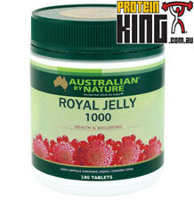AUSTRALIAN BY NATURE ROYAL JELLY 1000MG 180 CAPSULES vitamin a c d e b minerals