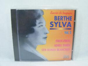 BERTHE SYLVA Vol.2 CD FROU-FROU... Succés de toujours Chanson Française vintage
