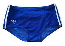 Adidas vintage Sprinter Shorts Gr. 5 M Frotte Sporthose 80er Baumwolle blau FS5