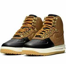 DS New Nike Air Force 1 Duckboot Lunar Force Black Brown Gum BQ7930-001 Sz 9.5