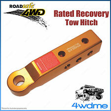 4WD Aluminium EXTENDED Recovery Tow Hitch 5Tonne Rated Snatch Offroad Accessory
