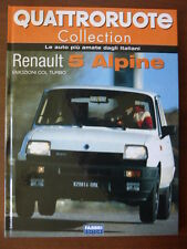 rare book RENAULT 5 ALPINE - 50 pages hard cover