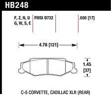 Hawk Performance HB248U.650 Unbeatable Pad And Rotor Wear Disc Brake Pads