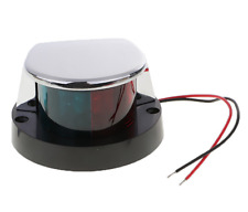 Marine Boat Bow Navigation Light Bi Colour Red Green