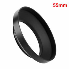 55mm Wide Angle Metal Lens Hood for Nikon Canon Sony Olympus Screw Mount