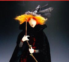 CLEARANCE - PATTERN - Wilda, the web designer - Beautiful art cloth doll PATTERN