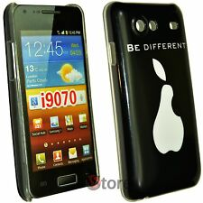 Cover Custodia Per Samsung Galaxy Advance i9070 Be Different Pera