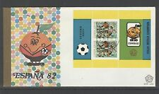 INDONESIA 1982 FDC SHP 123-5  WORLD CHAMPIONSHIP SPAIN  + BLANK