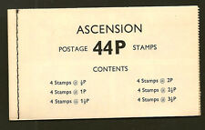 ASCENSION ISLAND :1971 44p Booklet  SG SB2  unmounted mint