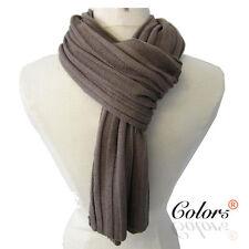 NEW Men Knit Soft Winter Long Causal Fashion Scarf