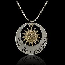 "Stylish ""Game of Thrones"" Khal & Khaleesi Moon of My Life Pendants Necklace"