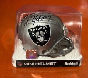 Bo Jackson Signed Oakland Raiders Mini Helmet BAS COA Royals White Sox Auburn