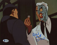 RICHARD MOLL SIGNED AUTOGRAPHED 8x10 PHOTO VOICE OF 2 FACE BATMAN BECKETT BAS