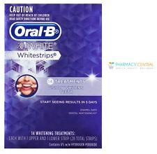 Oral B 3D White Whitestrips 14 or 28 Treatment