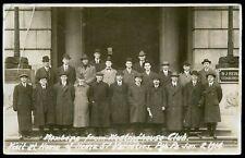 Westinghouse Club Members Visit Heinz 57 Pittsburg Pennsylvania 1914 Rppc Photo