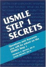 USMLE Step 1 Secrets, 1e