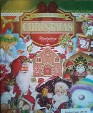 24 x A6 FROM HUNKYDORY LITTLE BOOK OF CHRISTMAS TOPPER CARD MAKING SCRAPBOOKING