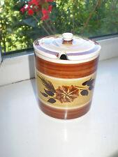 More details for toni raymond preserve pot brown cream vintage retro british