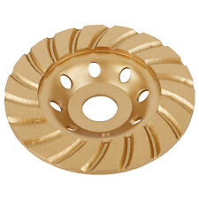 "4.5"" Turbo Diamond Disc Cup Wheel Mansonry Concrete Granite Marble Grinding Tool"