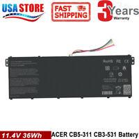 AC14B8K AC14B18J Battery for Acer Chromebook CB3-531 CB5-571 CB3-111 C810 C910