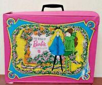 1968 Mattel The World of Barbie Double Doll Case Original Vintage Authentic Rare