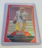 B3,163 - 2015 Panini Prizm Prizms Red #4 Brett Favre Packers