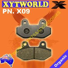 X09 Brake pads AJS CCM HONDA HYOSUNG KYMCO JONWAY SACHS