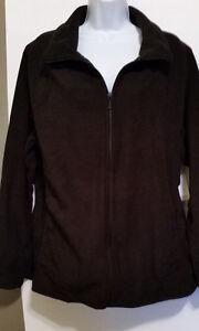 Women's Old Navy Perfomance Fleece Jacket Black or Green L XL XXL NWT